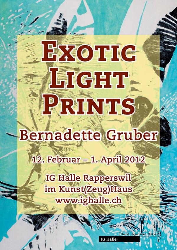 Exotic Light Prints – Bernadette Gruber