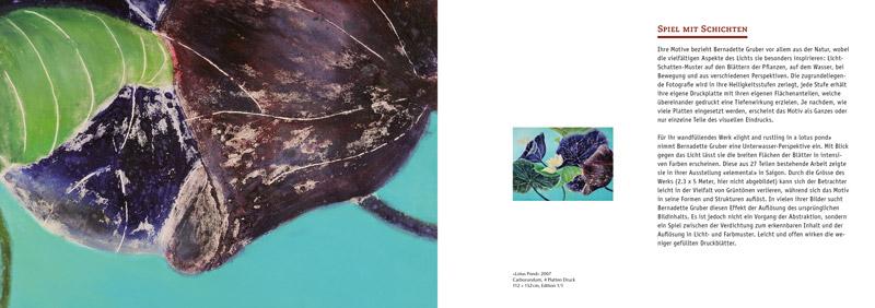 Bernadette Gruber – Exotic Light Prints