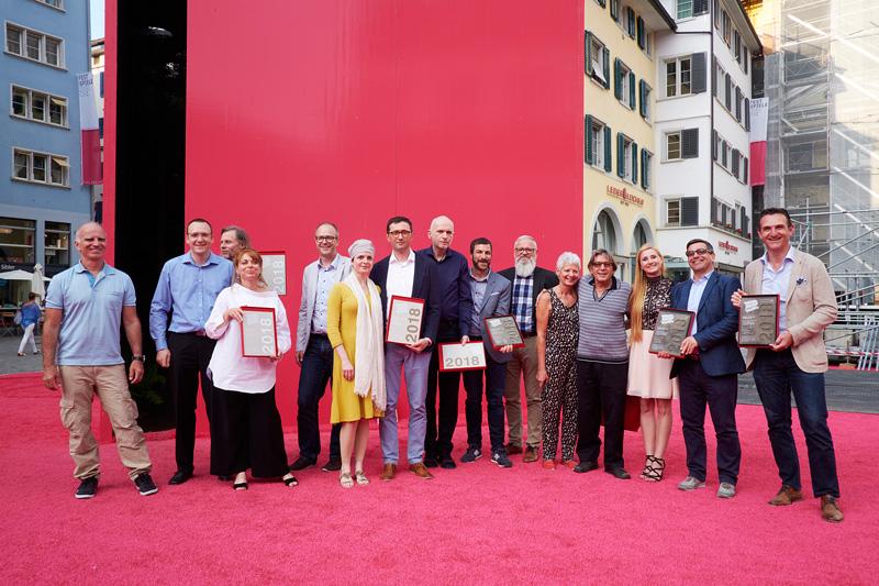 Presentation of the Swiss Print Award 2018