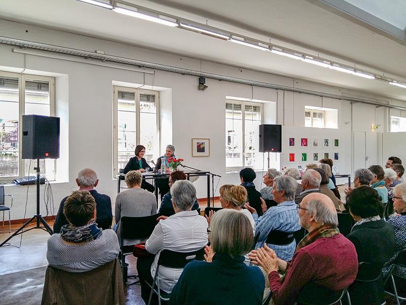 Lesung mit Susanna Schwager: «Das halbe Leben – junge Frauen erzählen», 2. April 2017. Eine Kooperation mit dem Kulturkreis und der Bibliothek Walenstadt