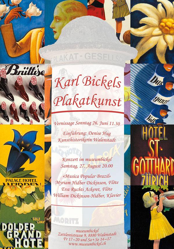 Karl Bickel Posters