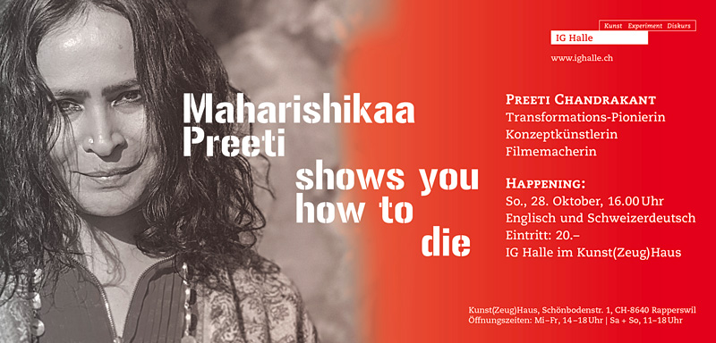 Maharishikaa Preeti shows you how to die