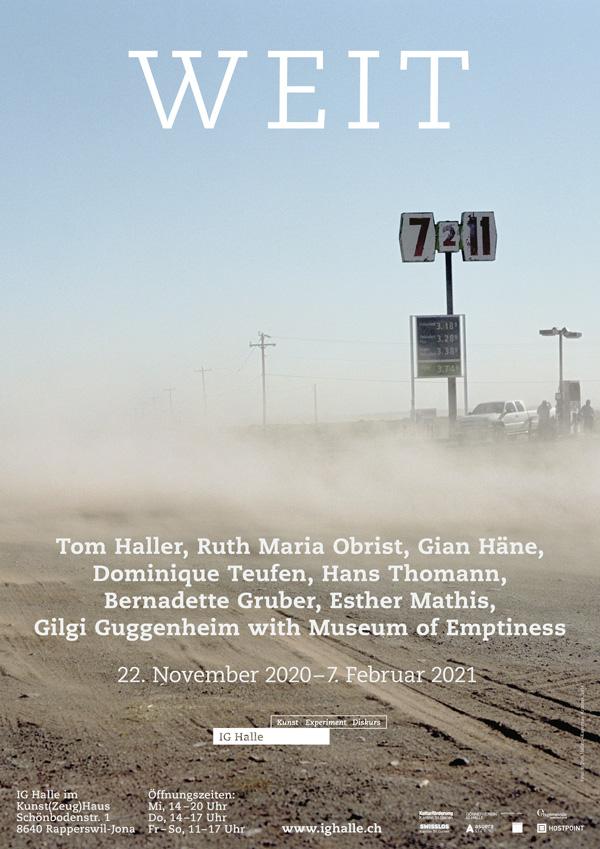 weit – Ausstellung IG Halle Rapperswil