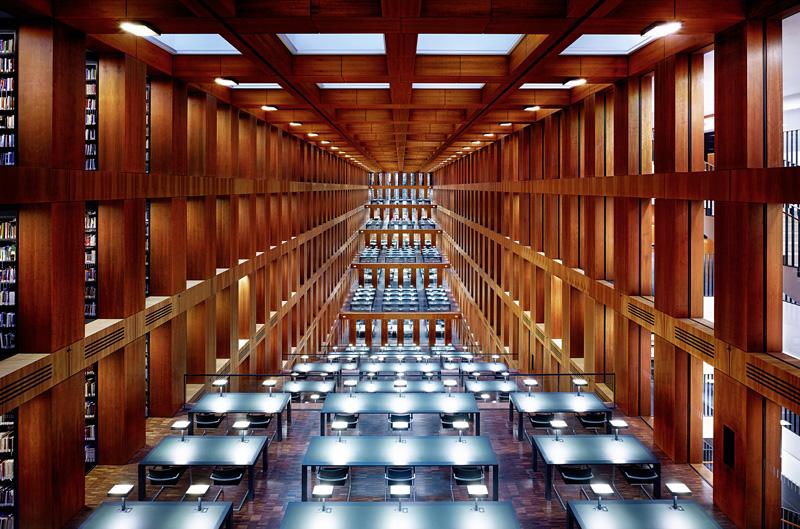 «Humboldt University Library I, Berlin», 2014, Bild © Luca Zanier