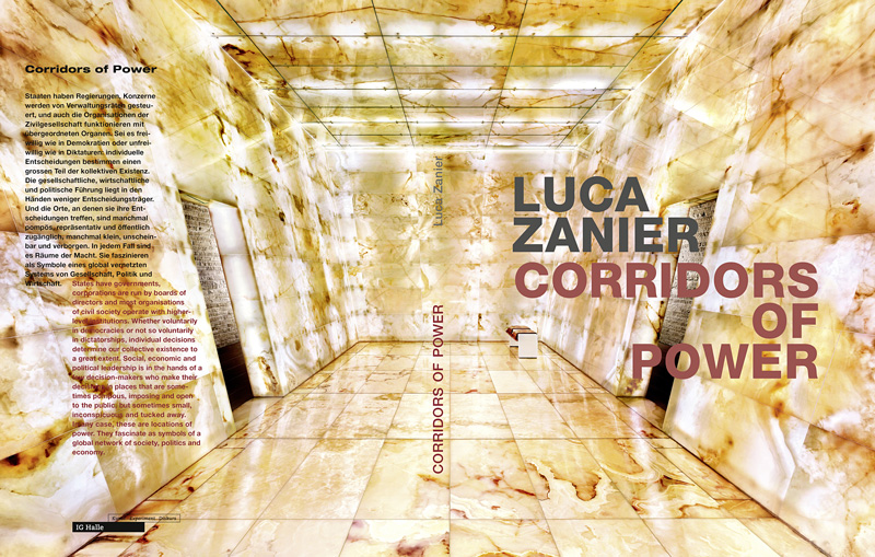 Luca Zanier: CORRIDORS OF POWER