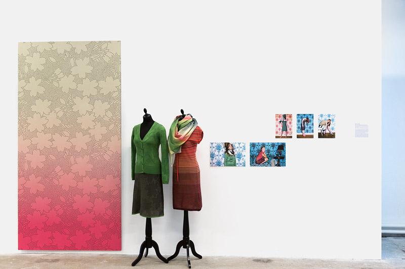 Beige Swiss Styling, Manuela Helg und Karin Maurer (Textildesign)