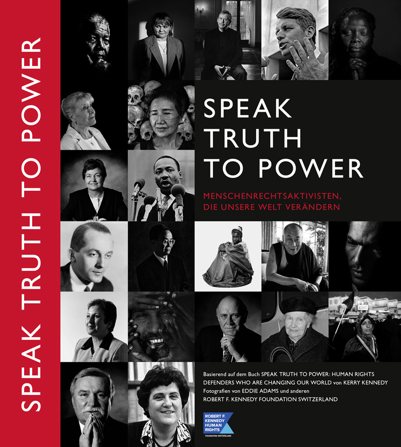 Cover for teaching material SPEAK TRUTH TO POWER, Soft cover, 160 pages